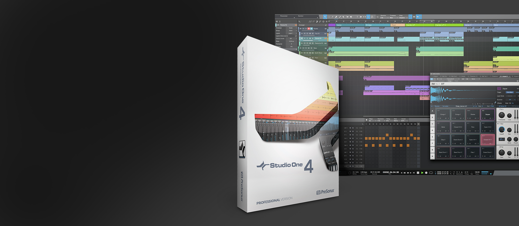 Studio One 4 box art