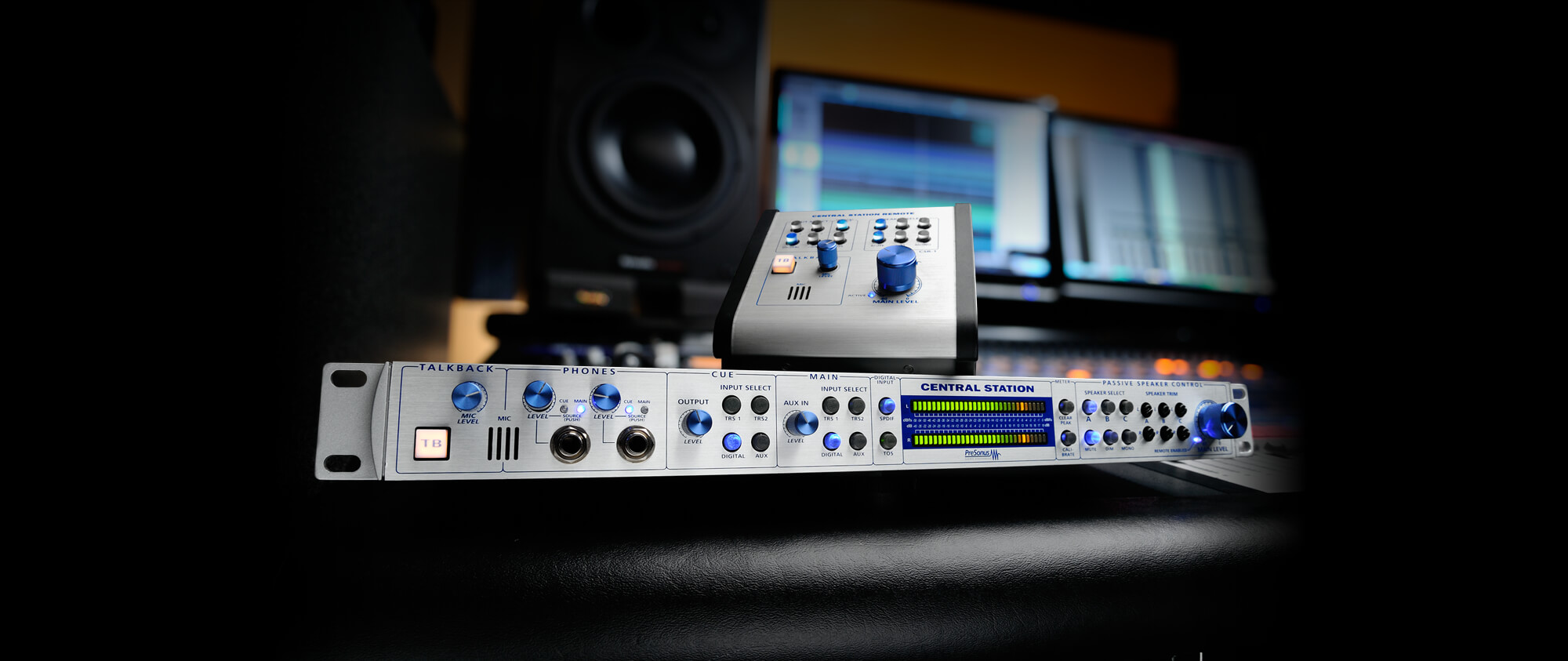 Central Station Plus Presonus Analog System Monitor And Controller