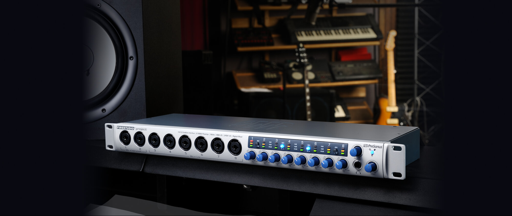 Presonus firestudio project hookup