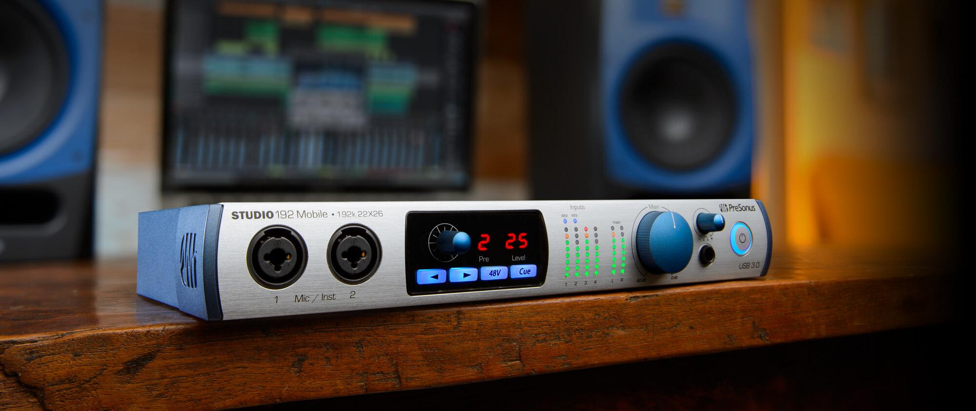 Studio 192 Mobile | PreSonus