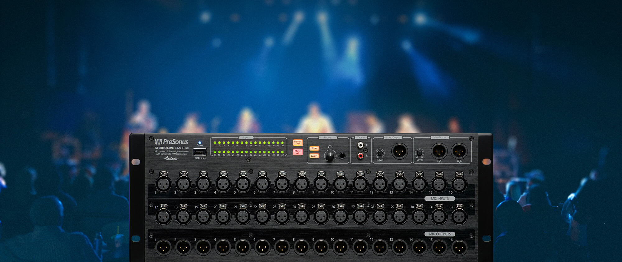 Studiolive Rm32ai Presonus Line Mixer Electronics Circuits For You