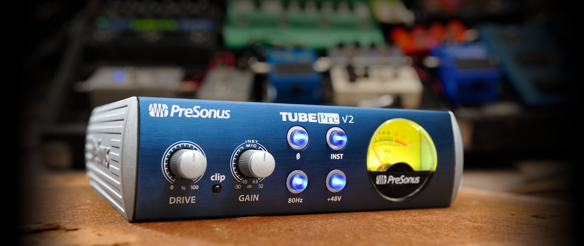 Tubepre V2 Presonus Low Noise Microphone Pre Amp With Op