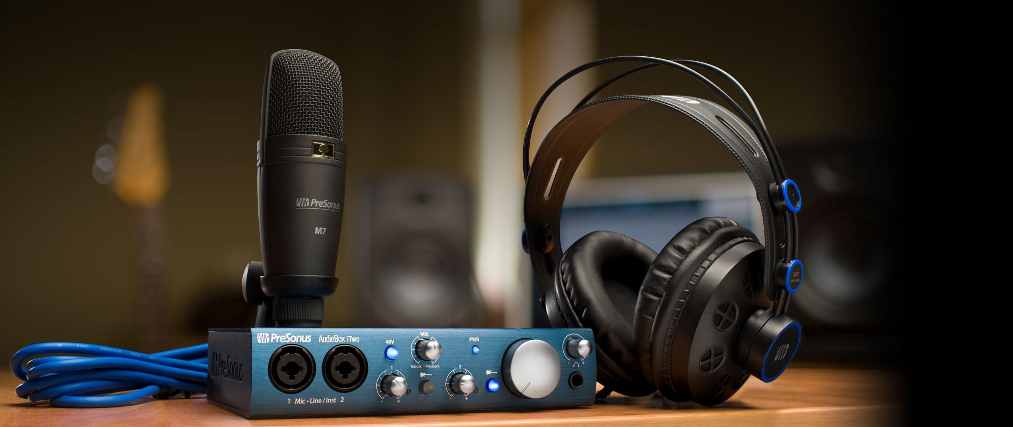 AudioBox iTwo Studio | Downloads | PreSonus