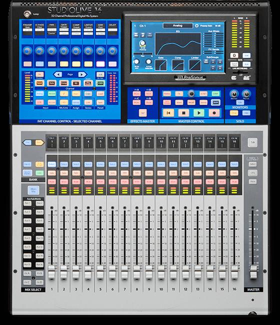 StudioLive 16 | PreSonus Commercial Division