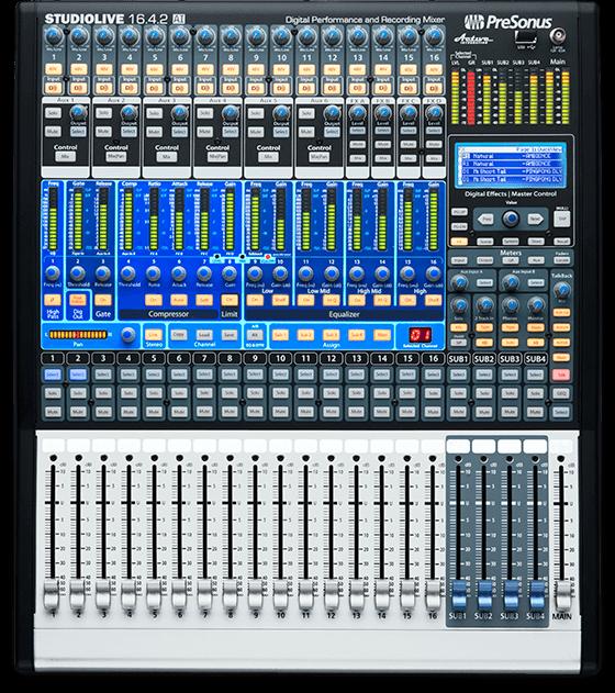 studiolive 16 4 2ai presonus commercial division rh commercial presonus com PreSonus 16 4 2 Mixer Rack Case 16.0.2 Mixer