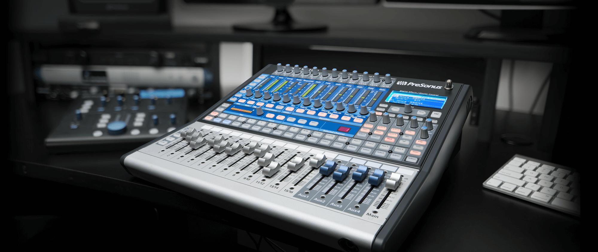 Studiolive 1602 Usb Presonus Line Mixer Electronics Circuits For You