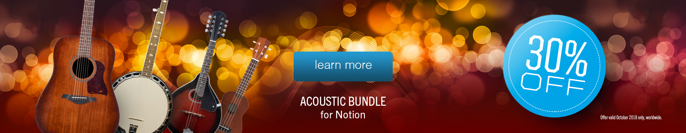 30 off Acoustic bundle
