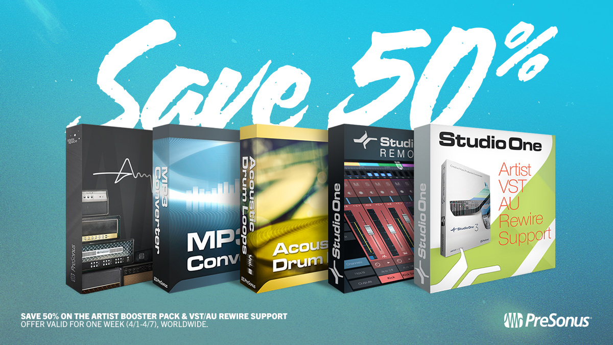 Artist Booster Pack and VST