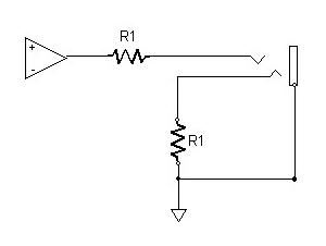 Impedance balanced output.