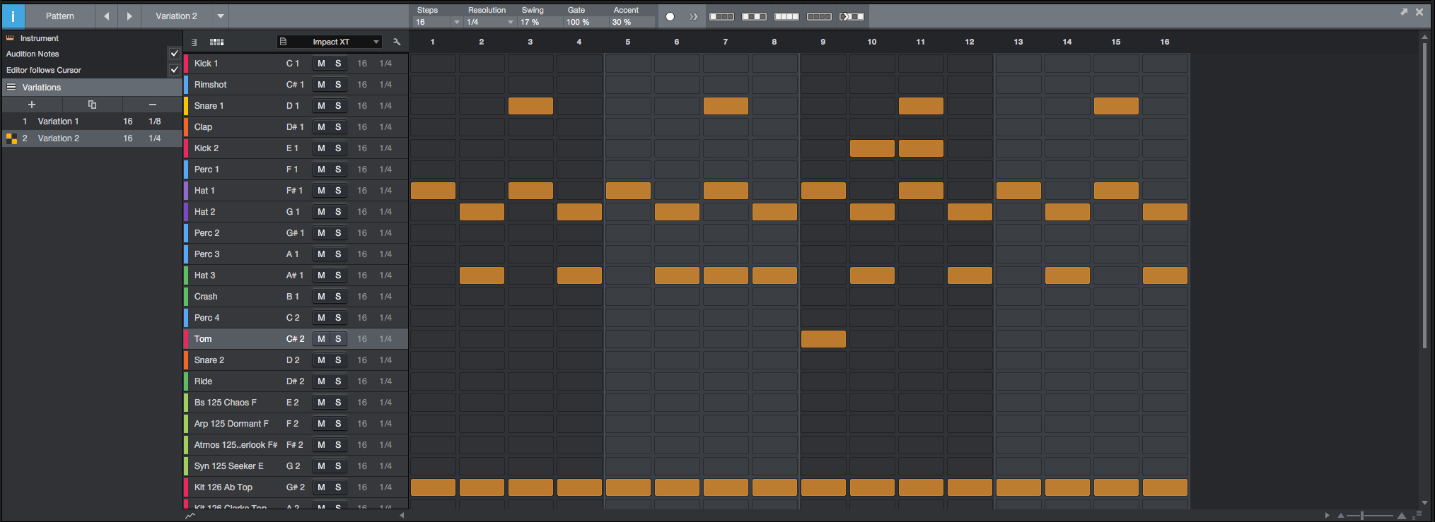 Getting Started with Pattern Sequencing | PreSonus