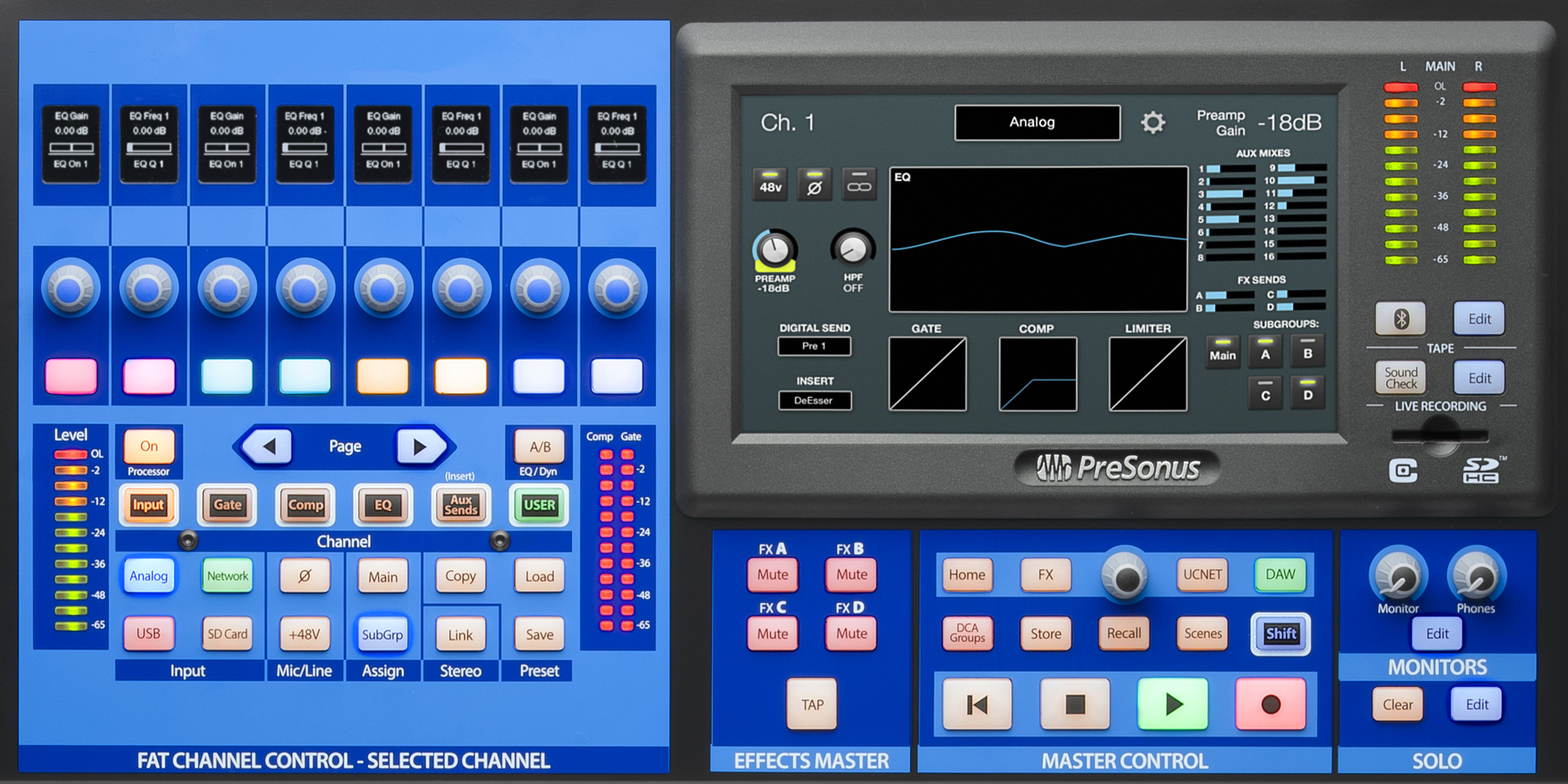 How To Mix And Record Church Servicesand More Presonus Diagram Furthermore Live Sound Pa System Setup On Studiolive Digital Mixers Changed All That Providing A Wealth Of Onboard Processing Without Forcing You Dive Into Multiple Layers Menus