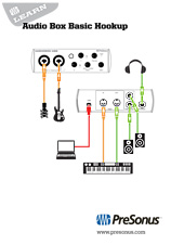 audiobox hookup diagram