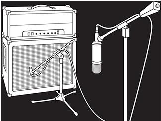 basic mic placement tips presonus. Black Bedroom Furniture Sets. Home Design Ideas