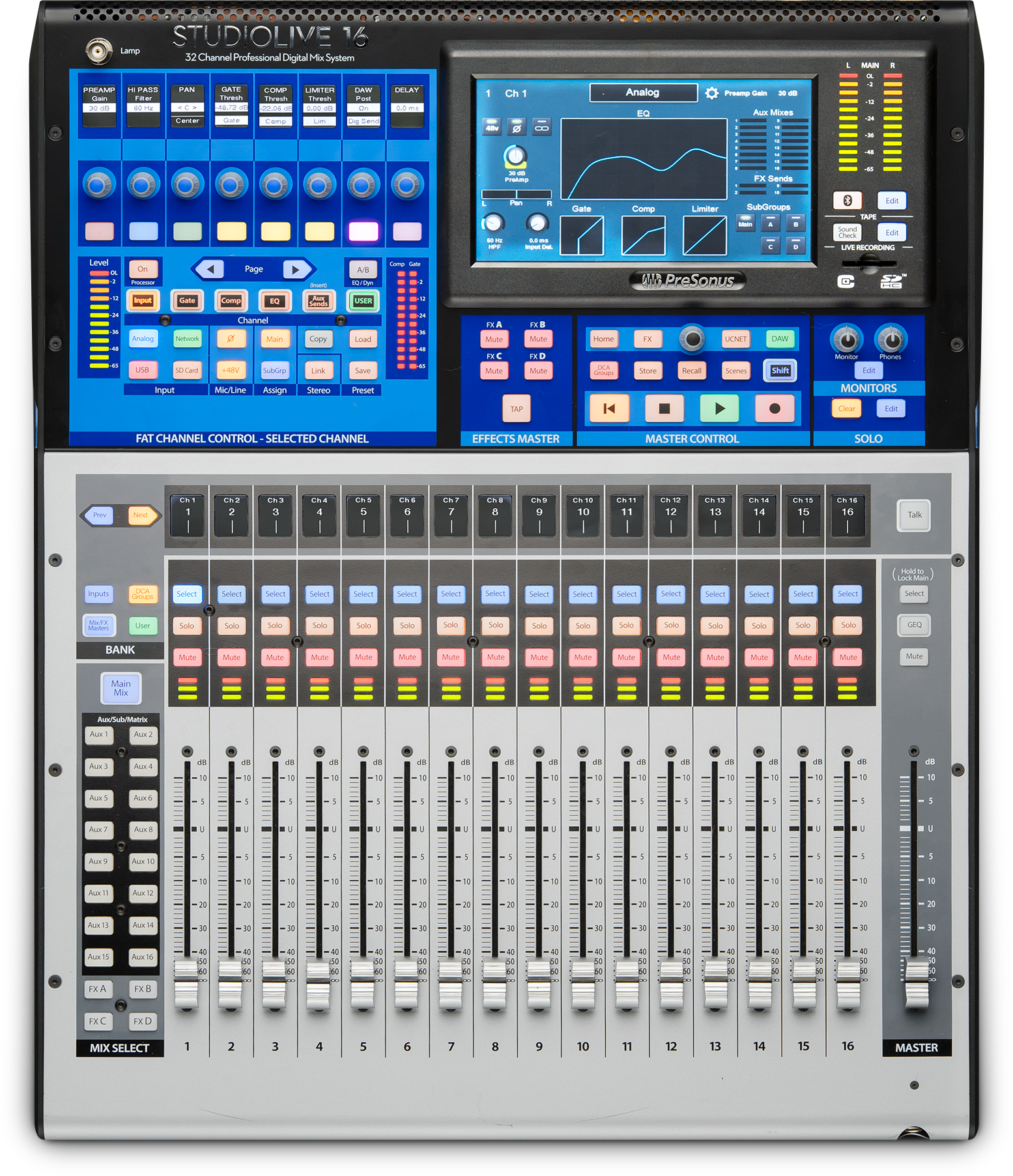 Mixers 101 How To Pick The Best Mixer For You Presonus Simple Microphone Circuit With Op Amp Mic Pre Digital Console