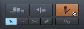 PreSonus Capture 2.1's Virtual Soundcheck button.