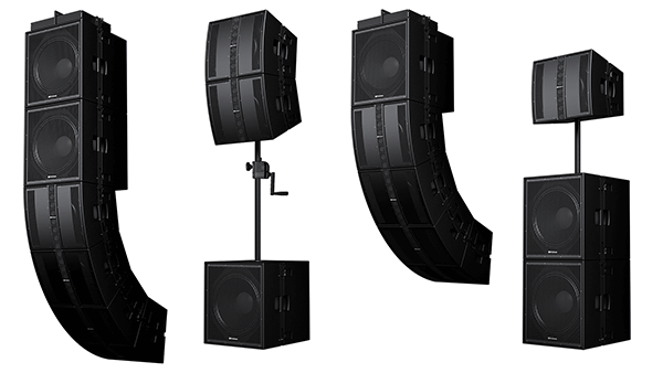 PreSonus CDL-series loudspeakers. Click for high-res images.