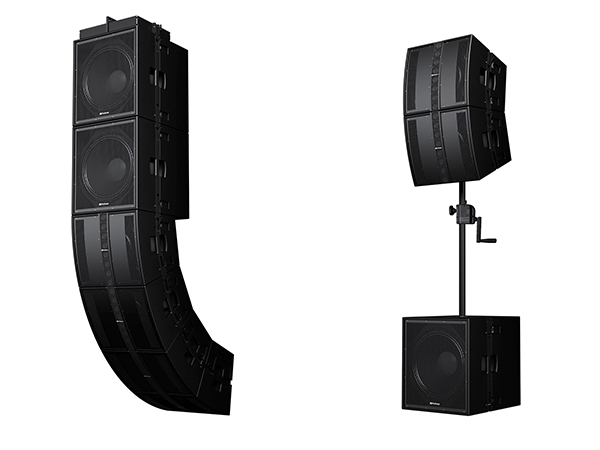 Another view of PreSonus' CDL-series loudspeakers.