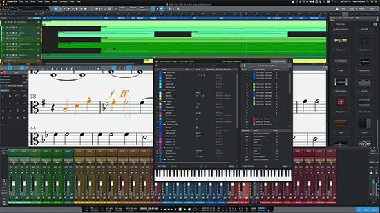 PreSonus' Studio One 5.3 update introduces musical symbols playback, including the ability to connect musical symbols to Sound Variations.