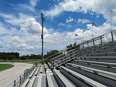 Estero High School athletic field. Click for larger image.