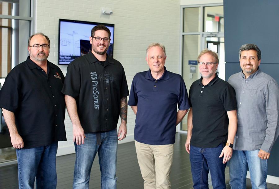 L-R: Hugh Sarvis, Tony Flammia, Stephen Fraser, Jim Odom, Rick Naqvi