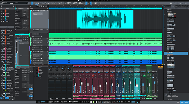 PreSonus Studio One 4.5. Click for larger image.