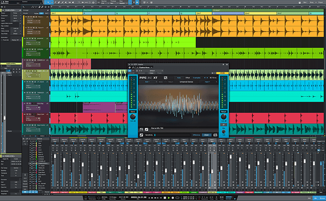 Studio One 4.1 Professional with Pipeline XT. Click for larger image.