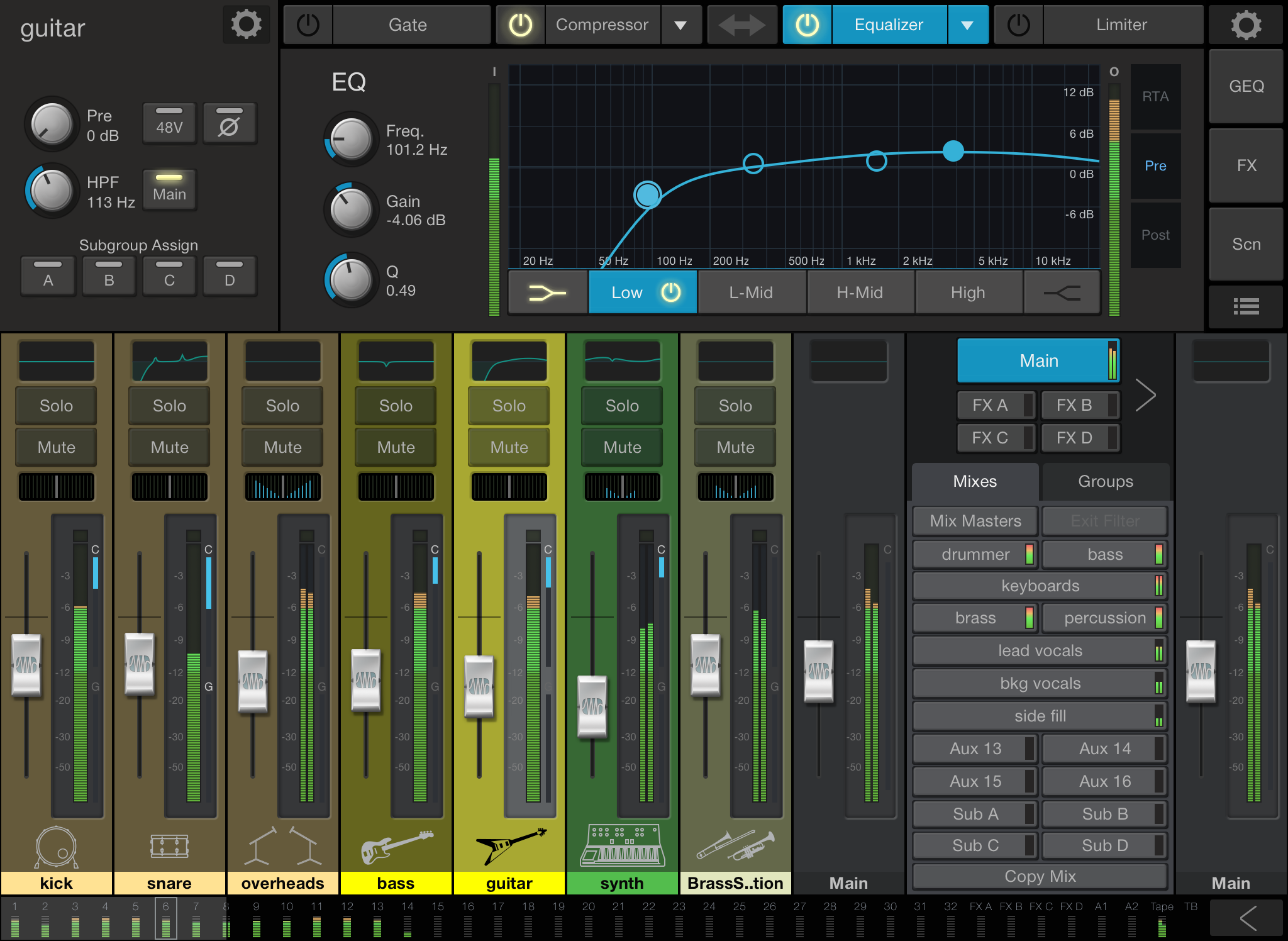 PreSonus UC Surface. Click to download image.
