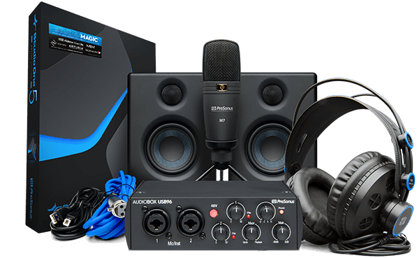 PreSonus AudioBox Studio Ultimate Bundle 25th Anniversary Edition. Click for larger image.