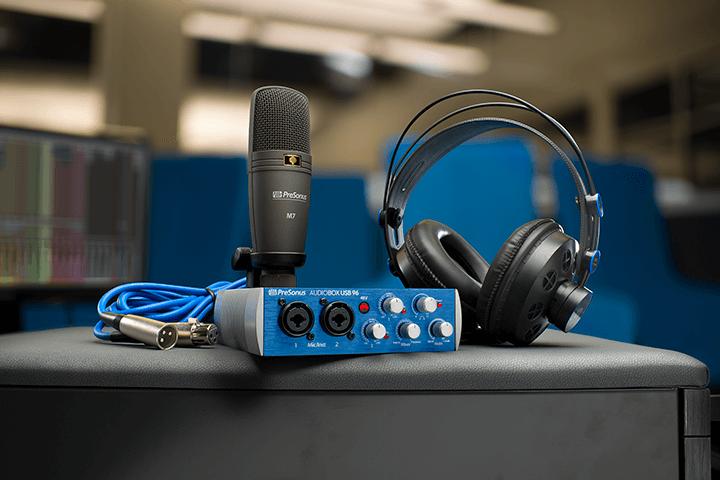 PreSonus AudioBox 96 Studio. Click for larger image.