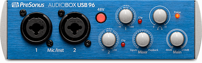AudioBox USB 96. Click for larger image.