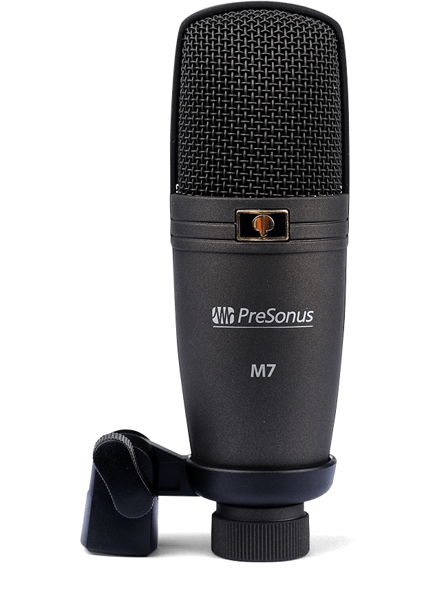 PreSonus M7 microphone. Click for larger image.
