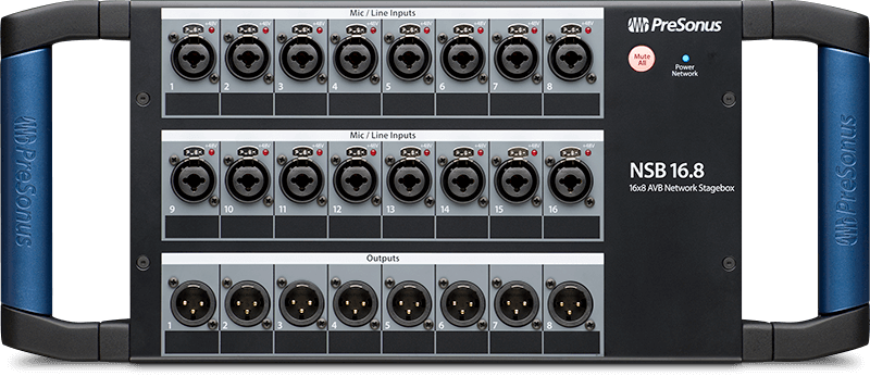 PreSonus NSB 16.8. Click for larger image.