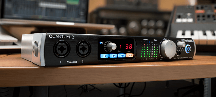 PreSonus Quantum 2. Click for larger image.