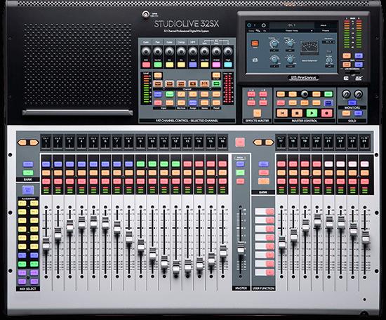 PreSonus StudioLive 32SX. Click for larger image.