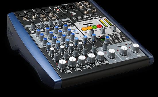 StudioLive AR8c hybrid mixer. Click for larger image.