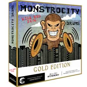 SonalSystem - MonstroCity Drums - Hi Res - Gold product image thumbnail
