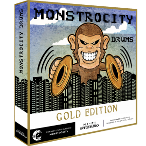 SonalSystem - MonstroCity Drums - Gold product image thumbnail