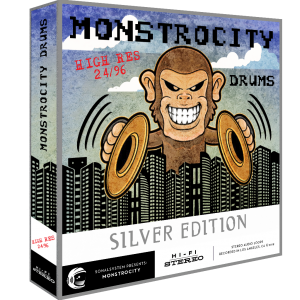 SonalSystem - MonstroCity Drums - Hi Res - Silver product image thumbnail