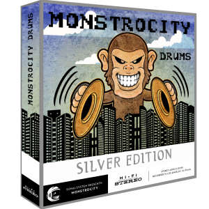 SonalSystem - MonstroCity Drums - Silver product image thumbnail