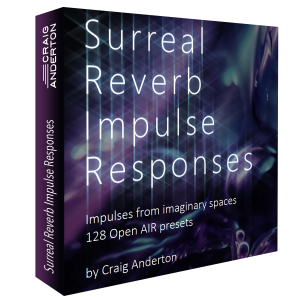 Craig Anderton - Surreal Reverb Impulse Responses product image thumbnail