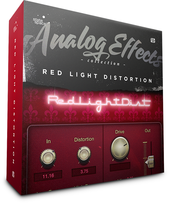 Red Light Distortion box art