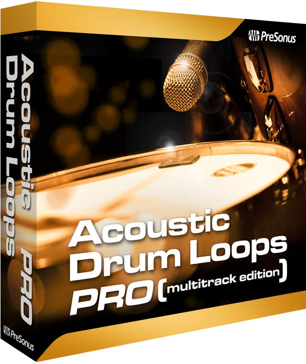 Acoustic Drum Loops Pro - Multitrack | PreSonus Shop
