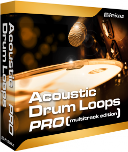 Acoustic Drum Loops Pro - Multitrack product image thumbnail