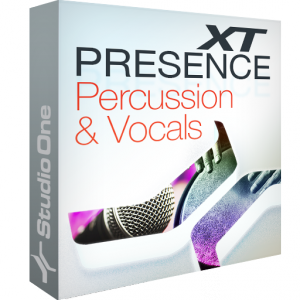 Presence XT - Percussion and Vocals product image thumbnail