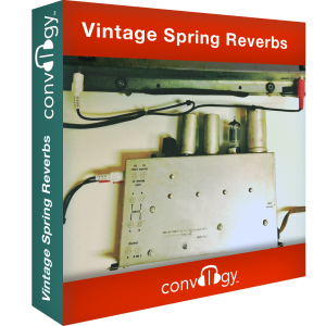 Convology - Vintage Spring Reverbs product image thumbnail