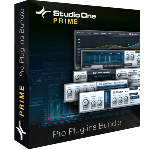 Studio One Prime - Pro Plug-ins Bundle product image thumbnail