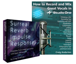 Craig Anderton - Vocals eBook and IR-Pack Bundle product image thumbnail