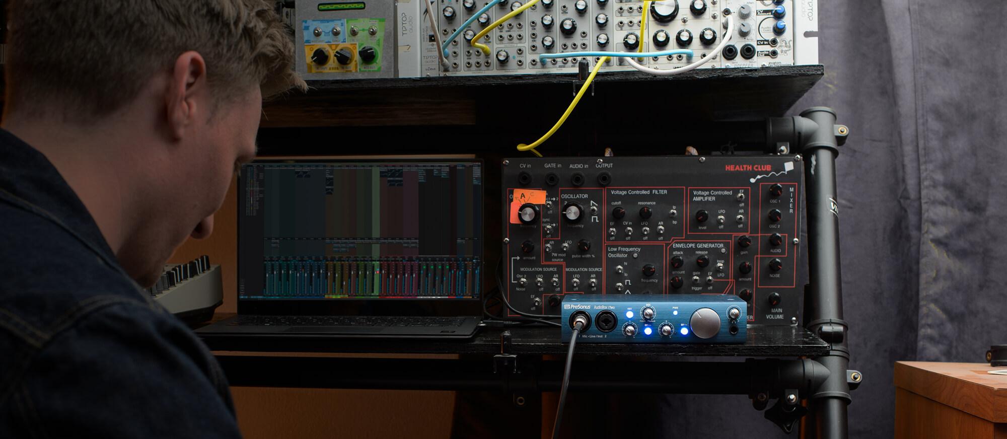 Audiobox Itwo Presonus Recording Studio Wiring Buy Now