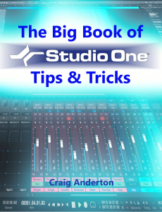 The Big Book of Studio One Tips and Tricks product image thumbnail