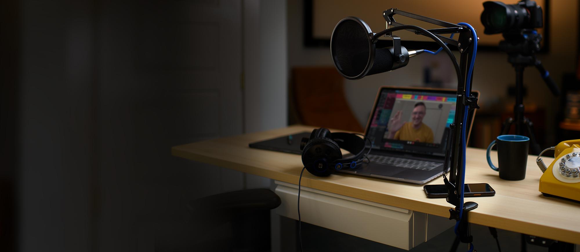 Streaming set-up